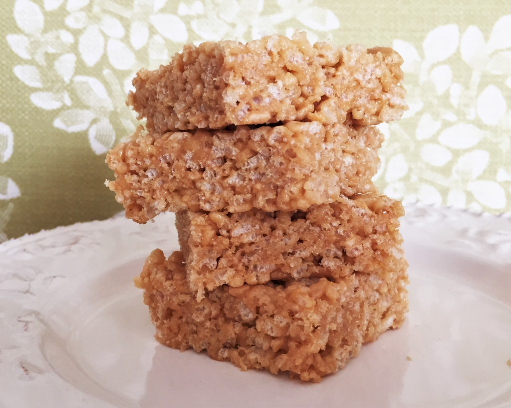 Peanut Butter Crispy Treats