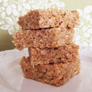 healthy rice crispy treat