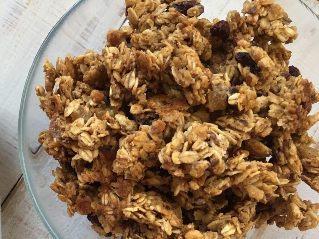cranberry ginger granola