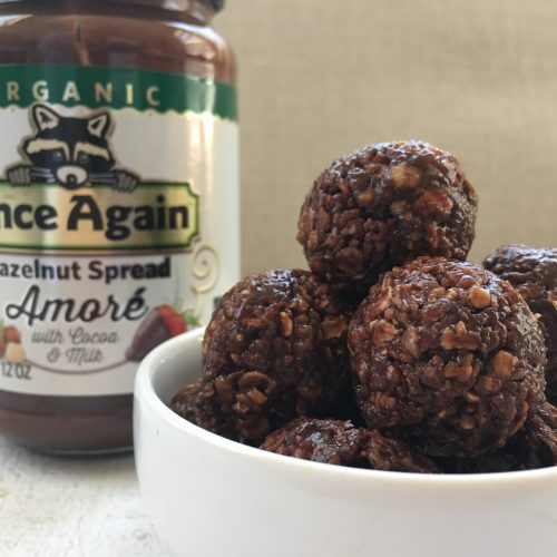 Chocolate Hazelnut Oat Bites