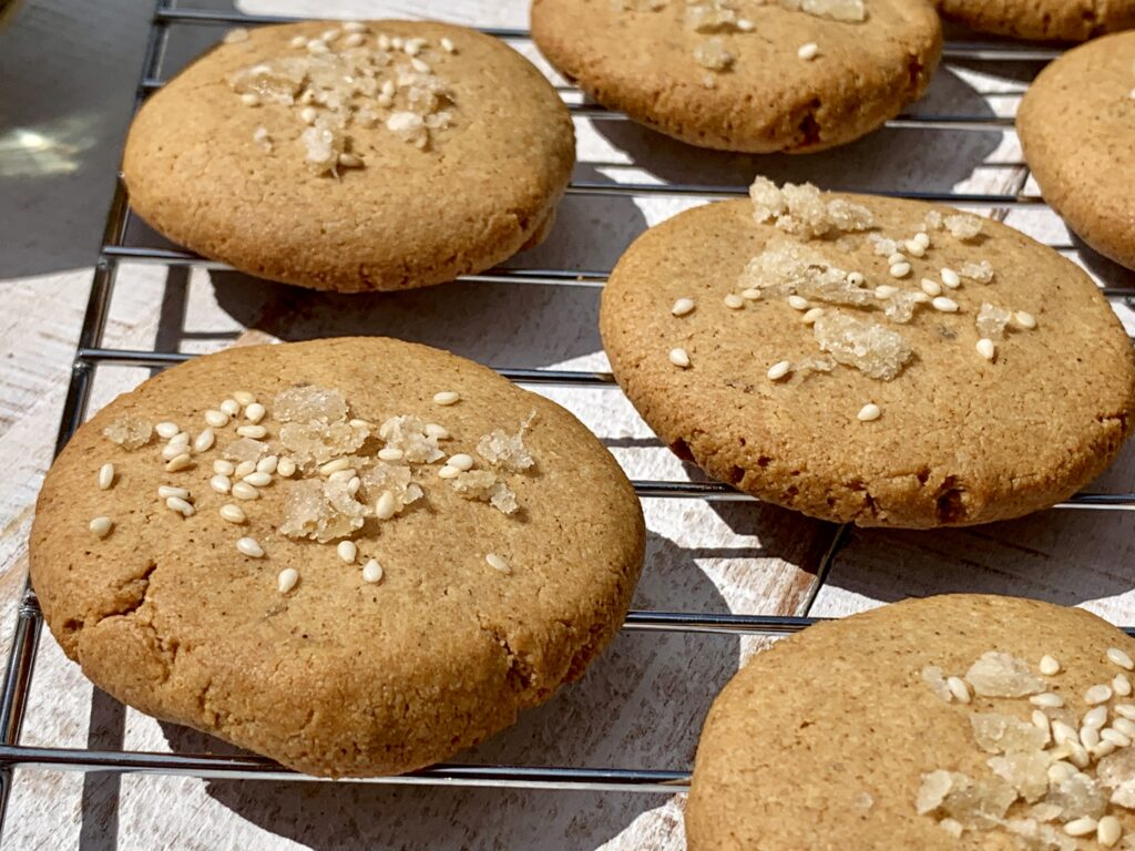 Ginger Tahini Cookie