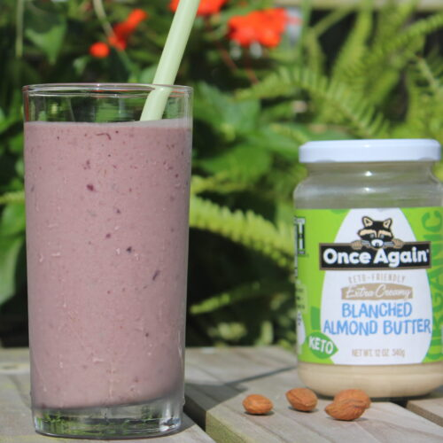 Dark Cherry Avocado Shake