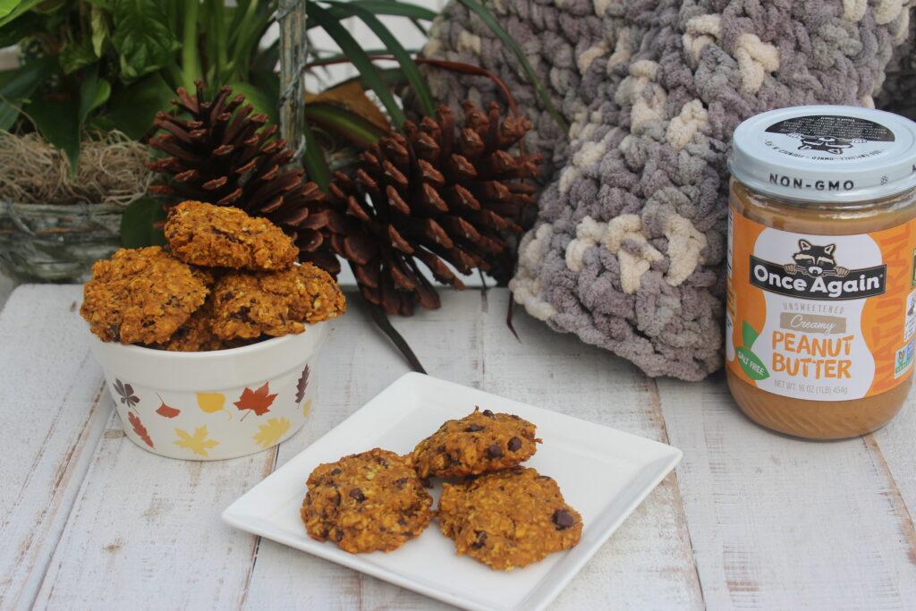 Vegan Gluten Free Pumpkin Chocolate Chips Cookies