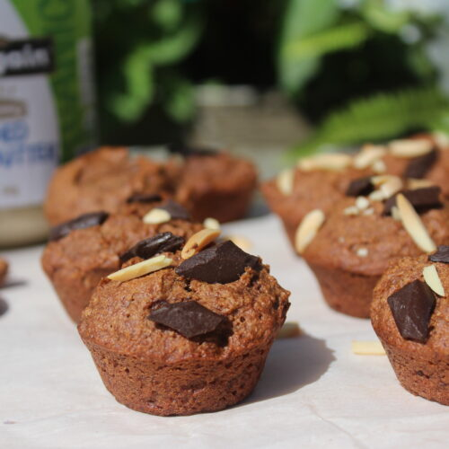 Almond Chocolate Muffins