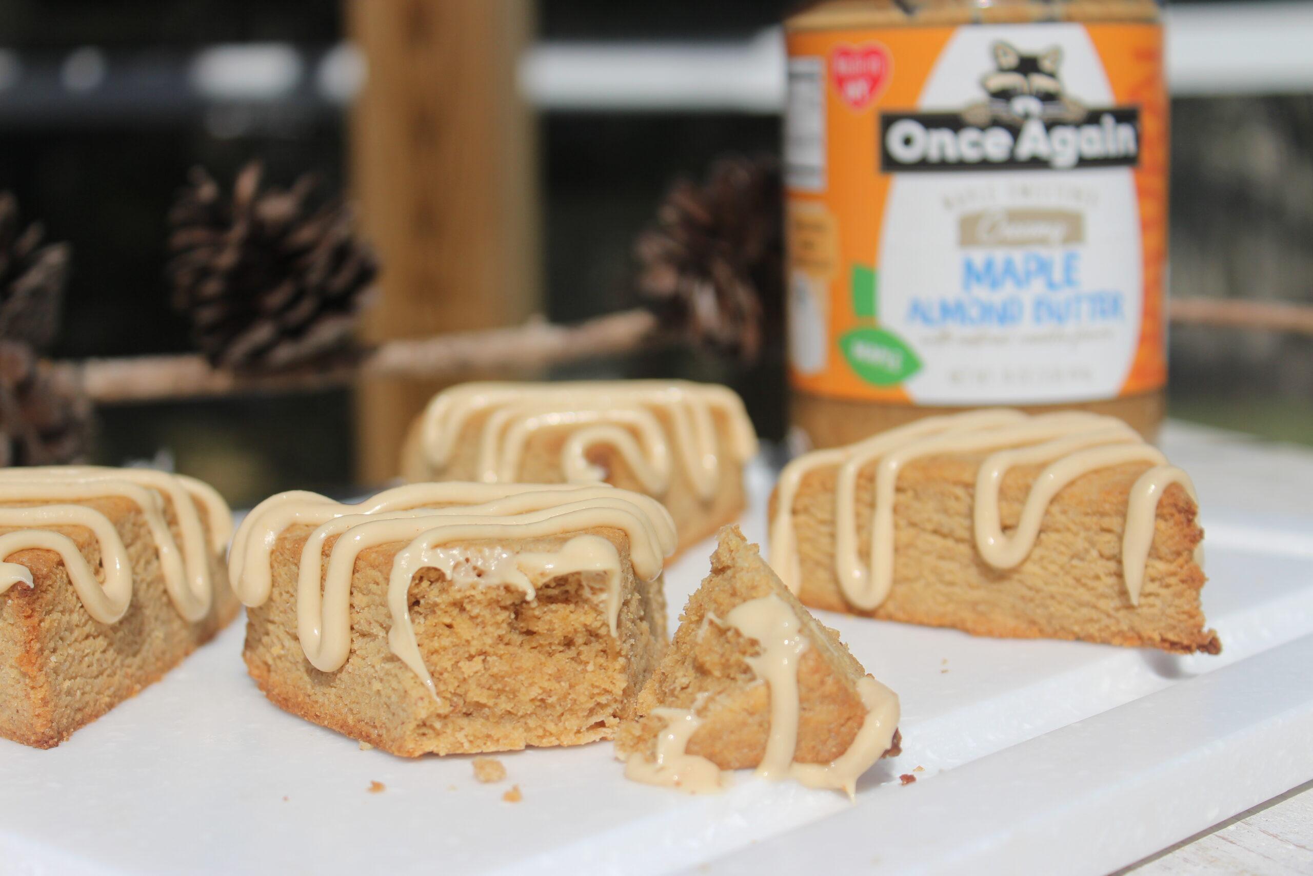 maple almond scones